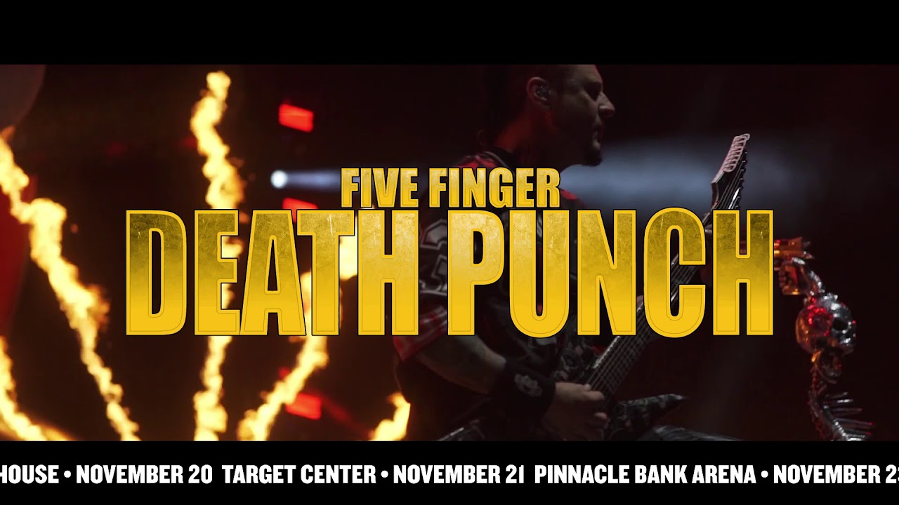 Five Finger Punch And Breaking Benjamin Extend 2018 U S Tour To Fall Arena Dates