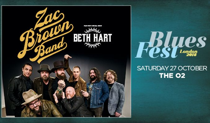 Bluesfest presents zac brown band tickets in london at the o2 on bluesfest presents zac brown band tickets at the o2 in london m4hsunfo
