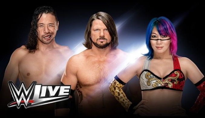 WWE Live! tickets at Broadmoor World Arena in Colorado Springs