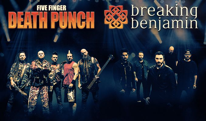 Five Finger Death Punch and Breaking Benjamin tickets at Target Center in Minneapolis