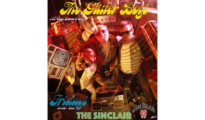 Glitter Boys tickets at The Sinclair Restaurant in Cambridge