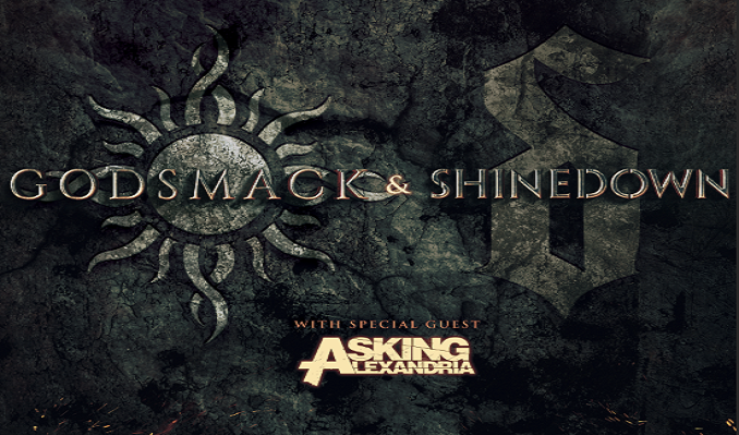 Godsmack & Shinedown tickets at Bon Secours Wellness Arena in Greenville