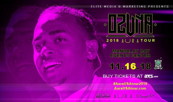 Ozuna tickets at Mandalay Bay Events Center in Las Vegas