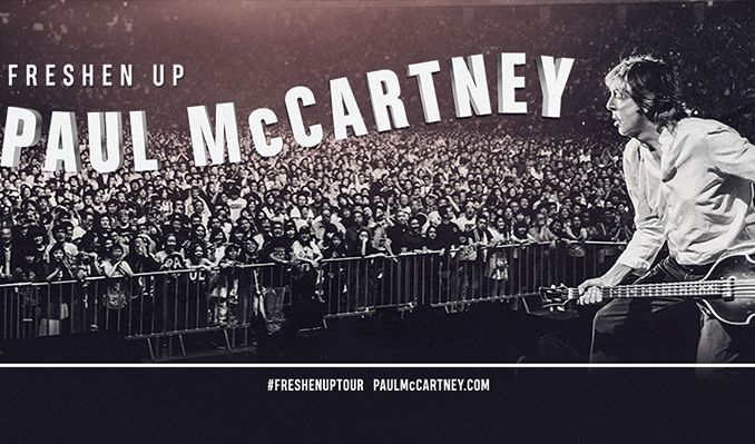 Image result for paul mccartney tickets 2018