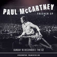 Paul McCartney tickets at The O2 in London
