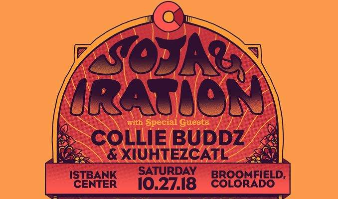 SOJA / Iration tickets at 1STBANK Center in Broomfield