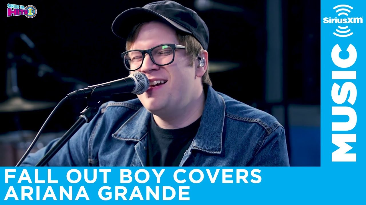 Listen: Patrick Stump of Fallout Boy puts an acoustic spin on Ariana Grande's 'No Tears Left to Cry'