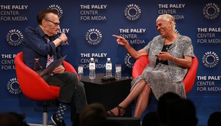 LOS ANGELES. CA: August 1, 2018 - Dionne Warwick and Larry King at The Paley Center for Media in Beverly Hills during A Special Evening with