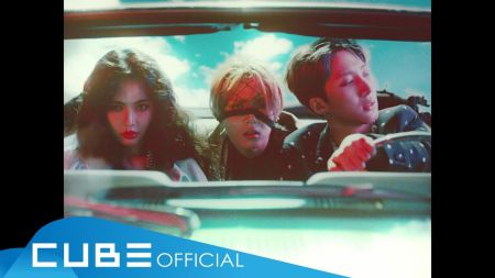HyunA and Triple H party hardy in 'Retro Future' music video