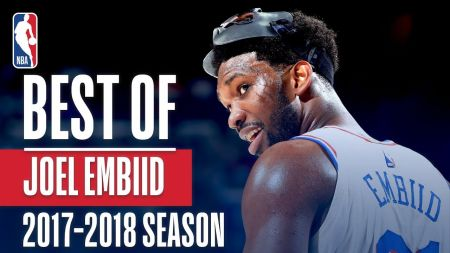 Joel Embiid targeting NBA MVP Award