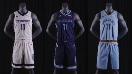 The Grizzlies have unveiled a new uniform design.