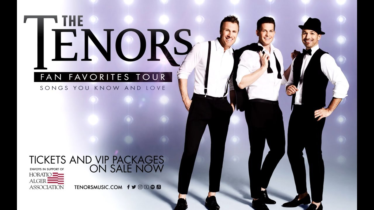 The Tenors Fan Favorites Tour coming to City National Grove of Anaheim this fall
