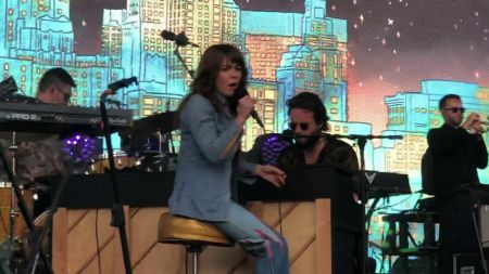Watch: Jenny Lewis joins Father John Misty to perform 'God's Favorite Customer'