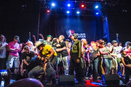 Brooklyn hosts the US Air Guitar Championship