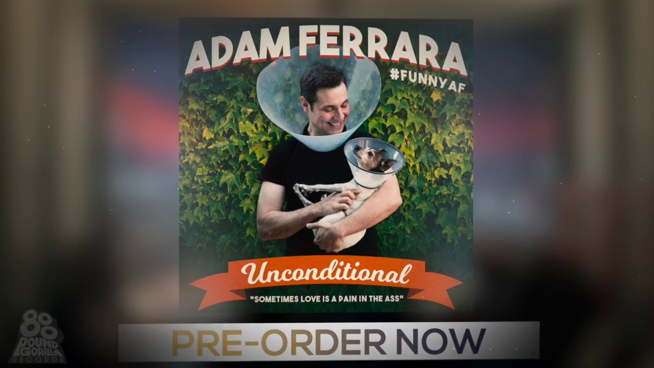 Review: Adam Ferrara bites into everyday problems in 'Unconditional'