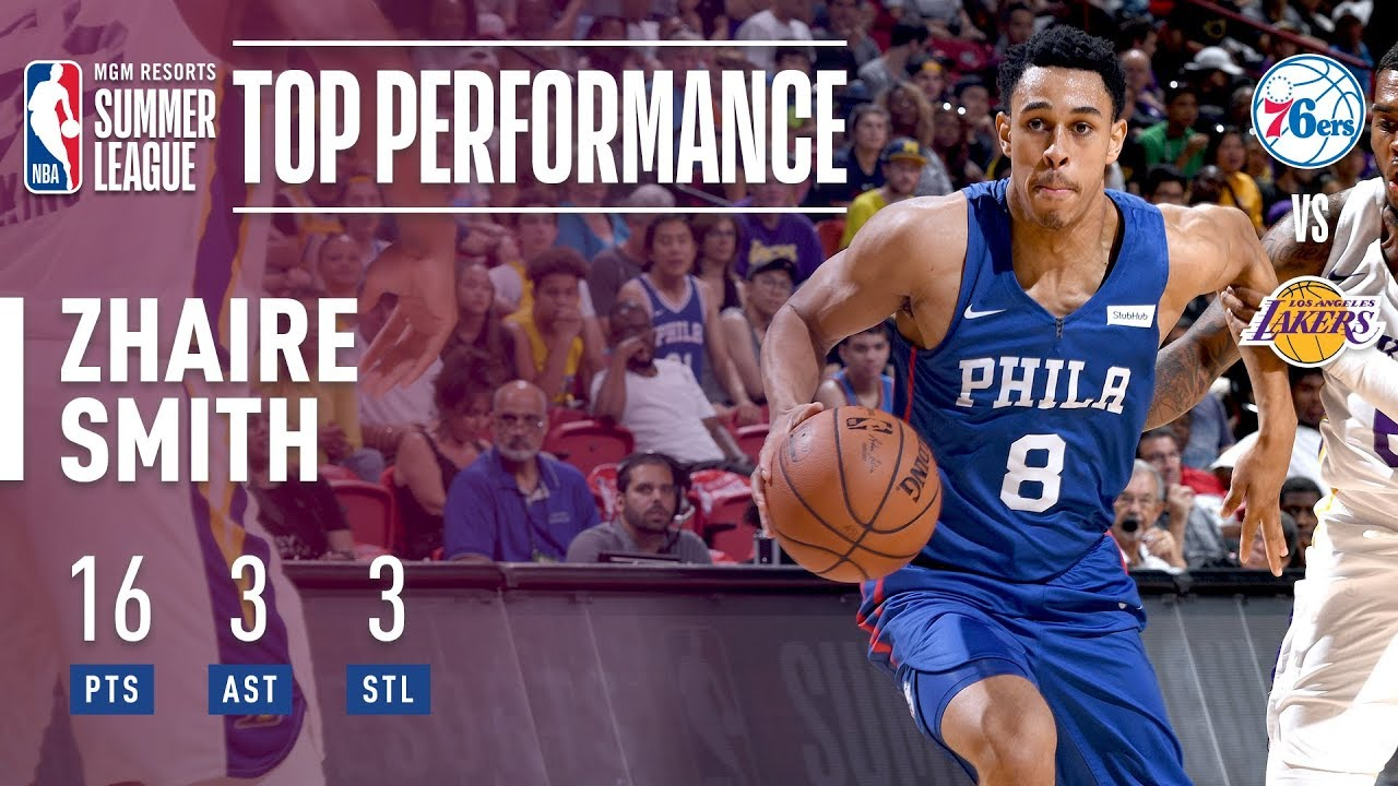 76ers rookie Zhaire Smith suffers foot injury