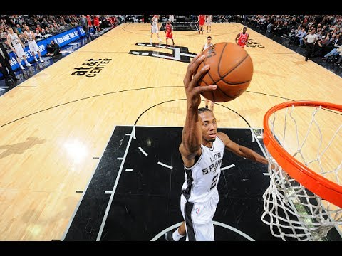 Kawhi Leonard thanks Spurs, fans