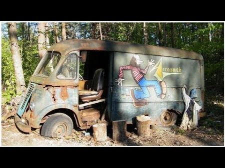 Aerosmith's first touring van uncovered by History Channel's 'American Pickers'
