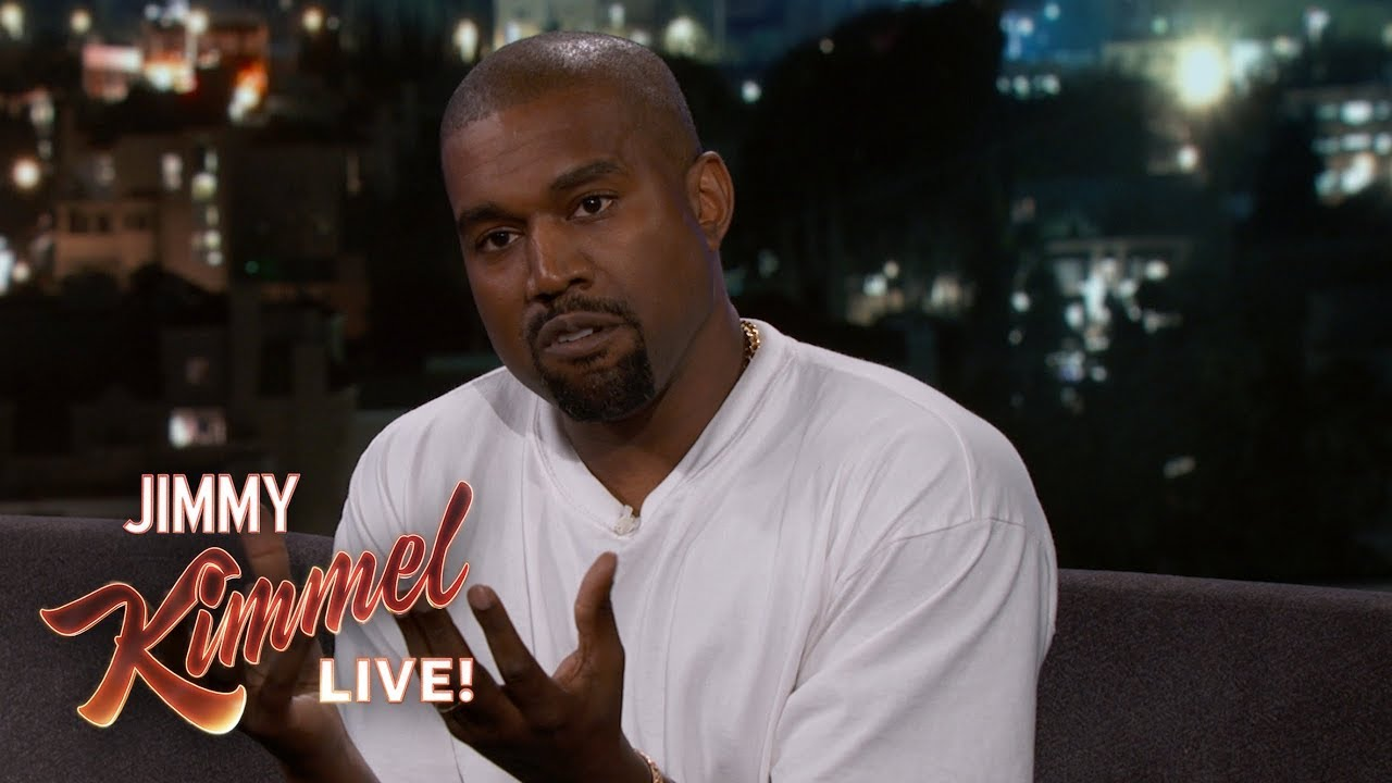 Kanye West returns to 'Jimmy Kimmel Live' for first time since 2013: Watch