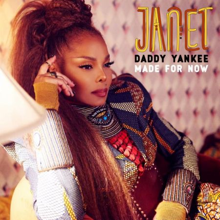 "Cover art for Janet Jackson's single ""Made for Now,"" featuring Daddy Yankee."
