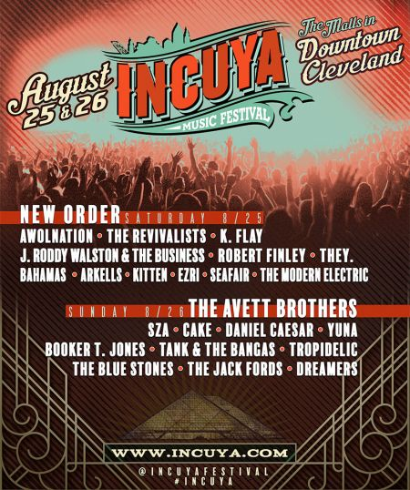 Cleveland's INCUYA Festival announces set times