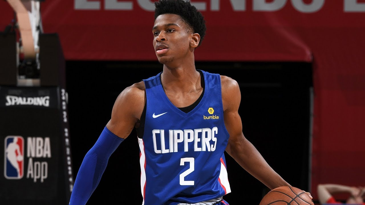 2018 19 La Clippers Roster Shai Gilgeous Alexander Player Profile