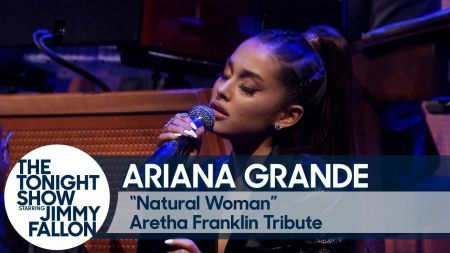Watch: Ariana Grande and The Roots pay tribute to Aretha Franklin with performance of 'Natural Woman' on 'Fallon'