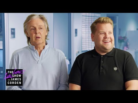 Watch: Paul McCartney chats with James Corden in trailer for upcoming documentary