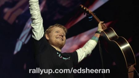 Ed Sheeran to give private guitar lesson, VIP concert experience in support of clean water charity
