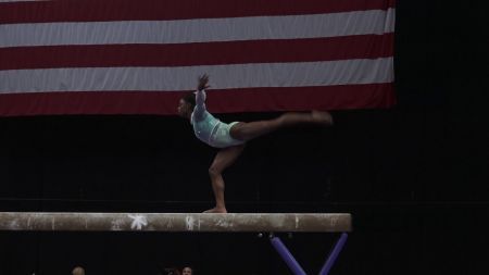 Olympic gymnast Simone Biles wins record fifth US Championships title