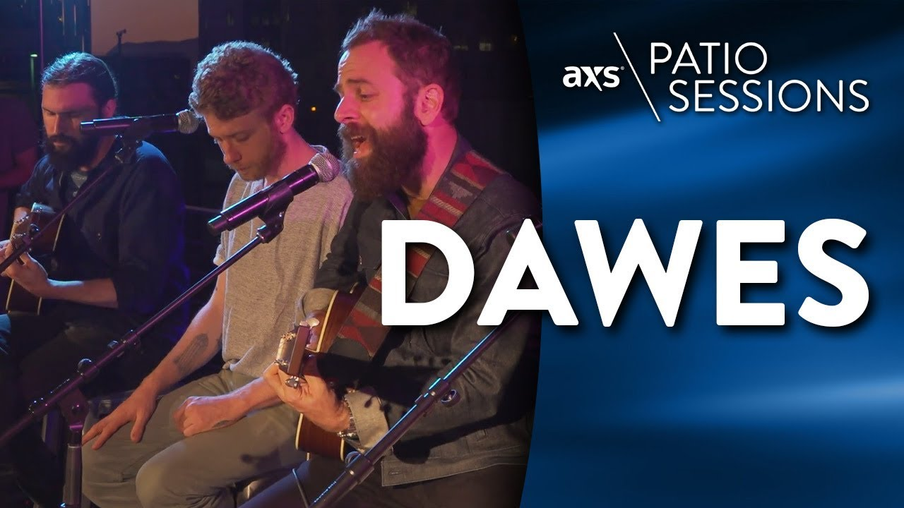 Watch: Taylor Goldsmith discusses the ever-evolving sound and soul of Dawes at the AXS Patio Sessions