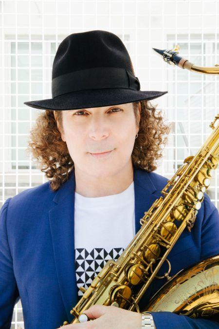 Saxophonist and composer Boney James plays to a packed house during the 'Smooth Summer Jazz' show at the Hollywood Bowl on Sunday, Aug. 19,