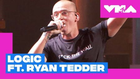 Watch: Logic and Ryan Tedder give a passionate 'One Day' performance with a pro-immigration message at the 2018 MTV VMAs