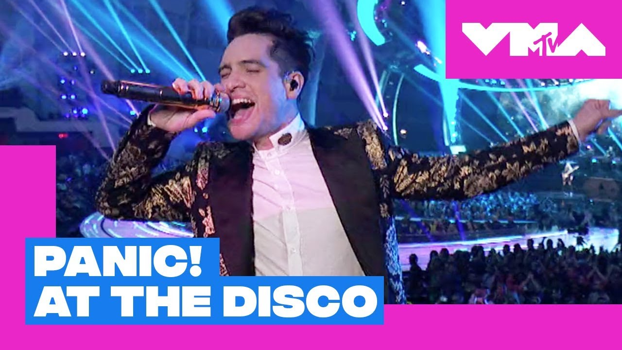 Watch: Panic! At the Disco does first VMA Brendon Urie solo