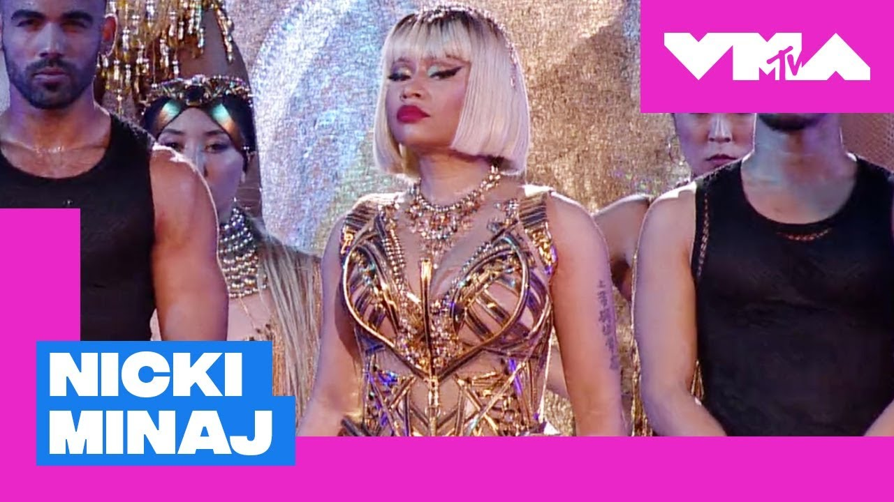 Watch: Nicki Minaj breaks the Internet with medley of hits at 2018 MTV VMAs; Normani controversy clarified