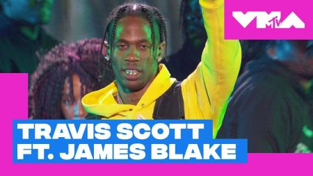 Watch: Travis Scott joined by surprise guest James Blake for medley at 2018 MTV VMAs
