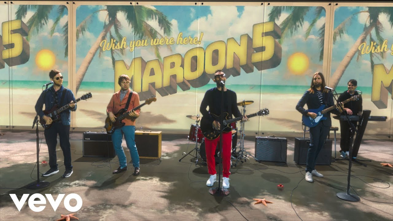 Maroon 5 fans can now own the band's tour and studio-used gear
