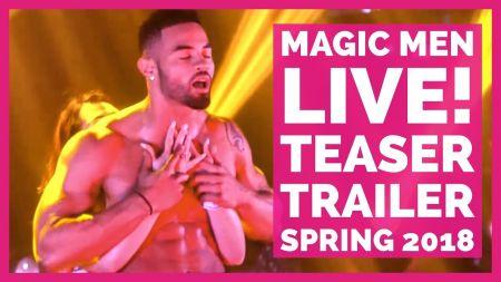 Magic Men LIVE! Official 2018 Tour stopping through Denver's Paramount Theatre