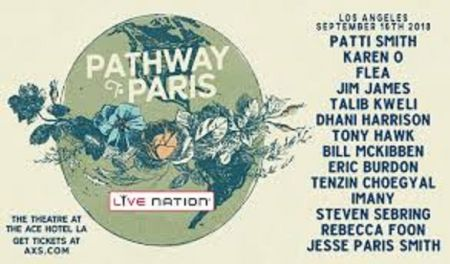 Lucinda Williams, Talib Kweli, Jim James and Dhani Harrison added to Pathway to Paris line-up