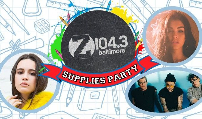 Supplies Party feat. lovelytheband, Bea Miller, & Madison Beer tickets at Rams Head Live! in Baltimore
