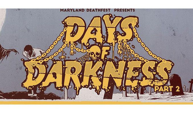 Days of Darkness tickets at Rams Head Live!, Baltimore tickets at Rams Head Live!, Baltimore
