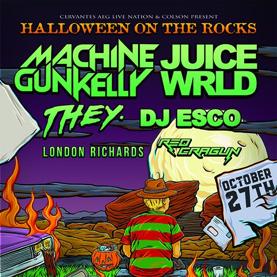 Thumbnail for Halloween on The Rocks: Machine Gun Kelly x Juice WRLD