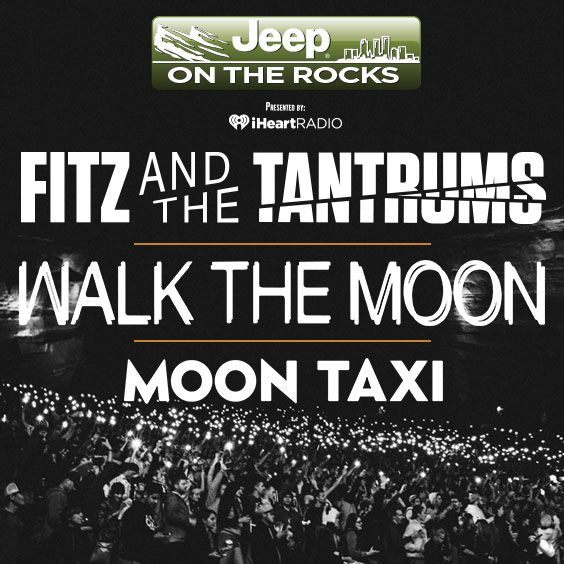 Thumbnail for Jeep On The Rocks 2018: Fitz & The Tantrums / WALK THE MOON