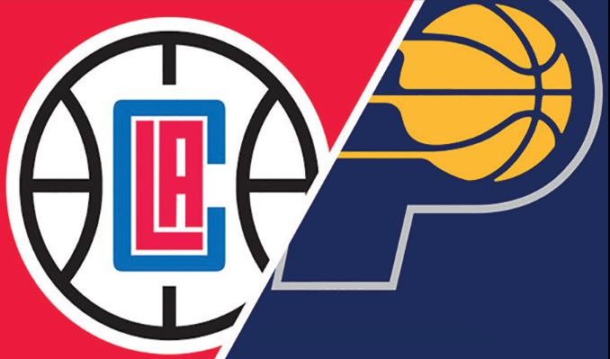 Resultado de imagen para Angeles Clippers vs Indiana Pacers