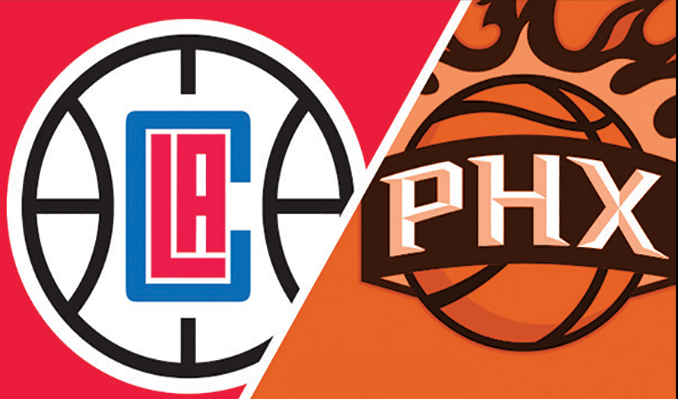 Image result for Los Angeles Clippers vs Phoenix Suns