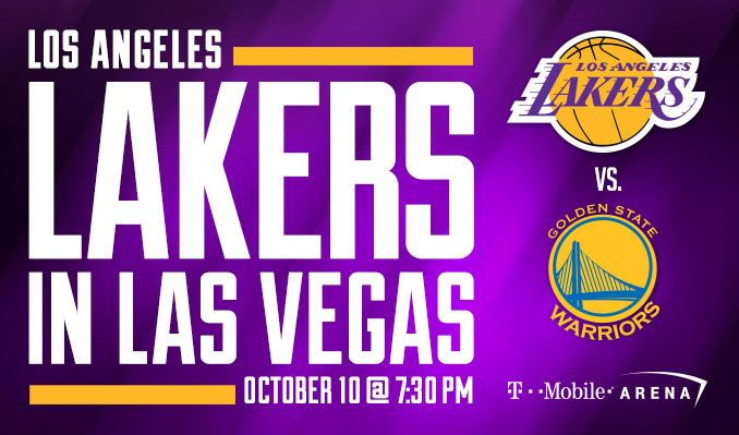 los angeles lakers vs golden state warriors tickets in las vegas at