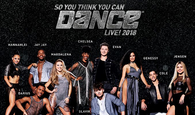 So You Think You Can Dance Live! 2018 tickets at The Dolby Theatre in Los Angeles