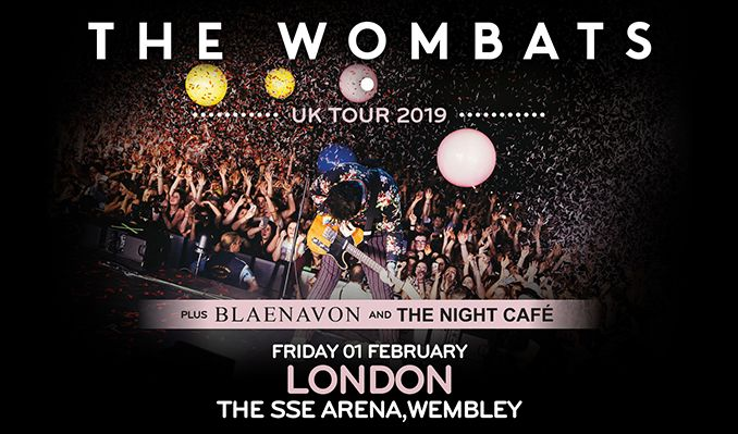The Wombats tickets at The SSE Arena, Wembley in London