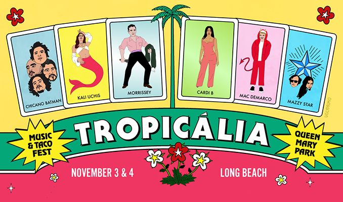 Tropicália tickets at Queen Mary Events Park in Long Beach