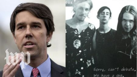 Listen: Texas Senator candidate Beto O'Rourke revives old punk song with member of The Mars Volta